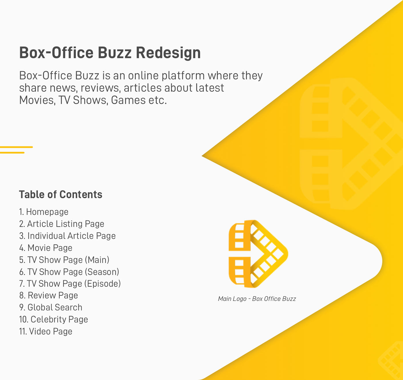 Box-Office Buzz Redesign: UI/UX Case Study on Behance