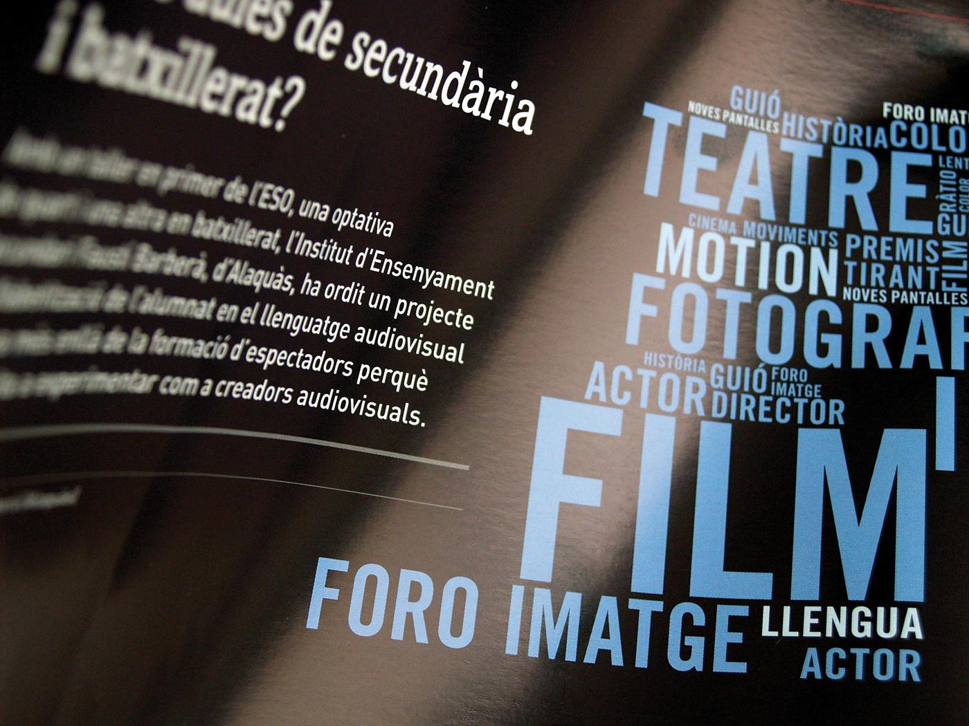design graphic magazine cultural teaching University universität degrees Master editorial