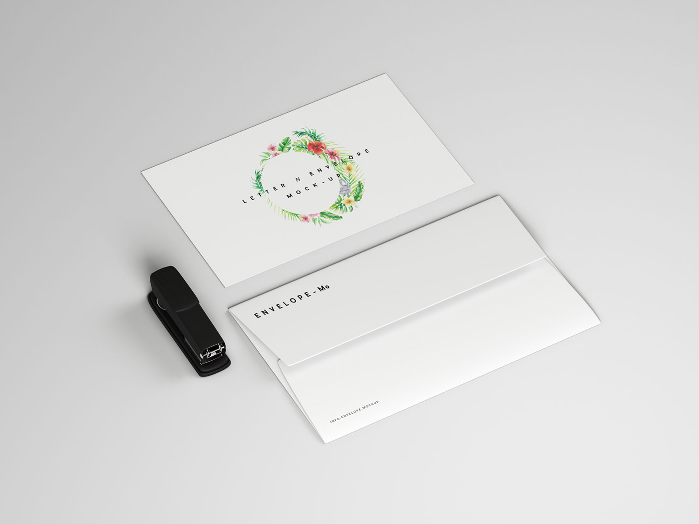 envelope and letter mockup on behance
