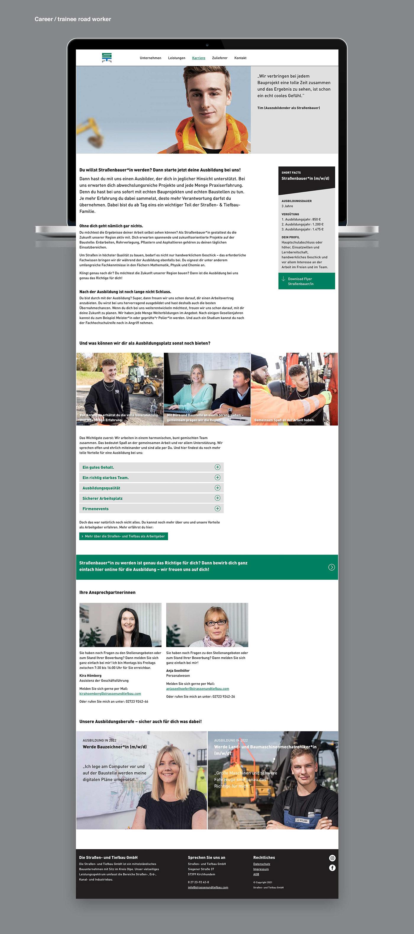 art direction  Career-site employer branding Web Design  Consulting design Website