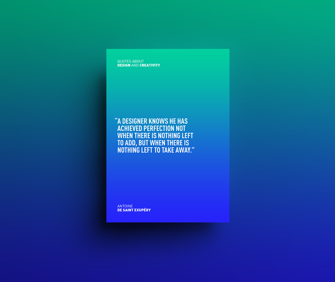 Quotes Design Design And Creativity Quotes On Behance