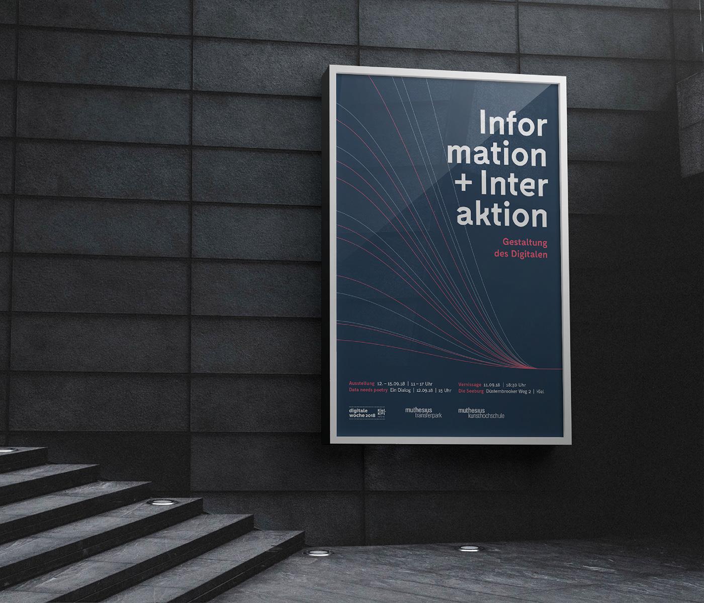 conference Data digital digitale woche digitalization information interaction Kiel Poetry  kieler woche