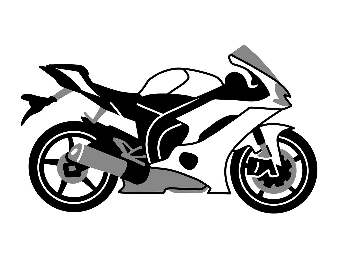 мужчины, картинка мотоцикла для печати аккуратном