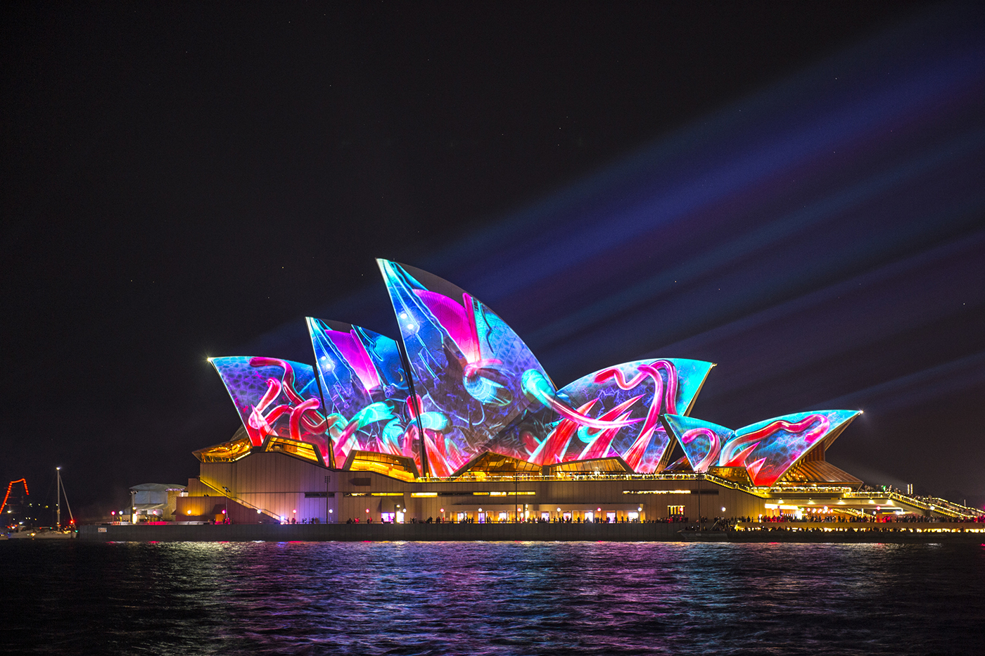Sydney Opera House - Lighting The Sails on Behance