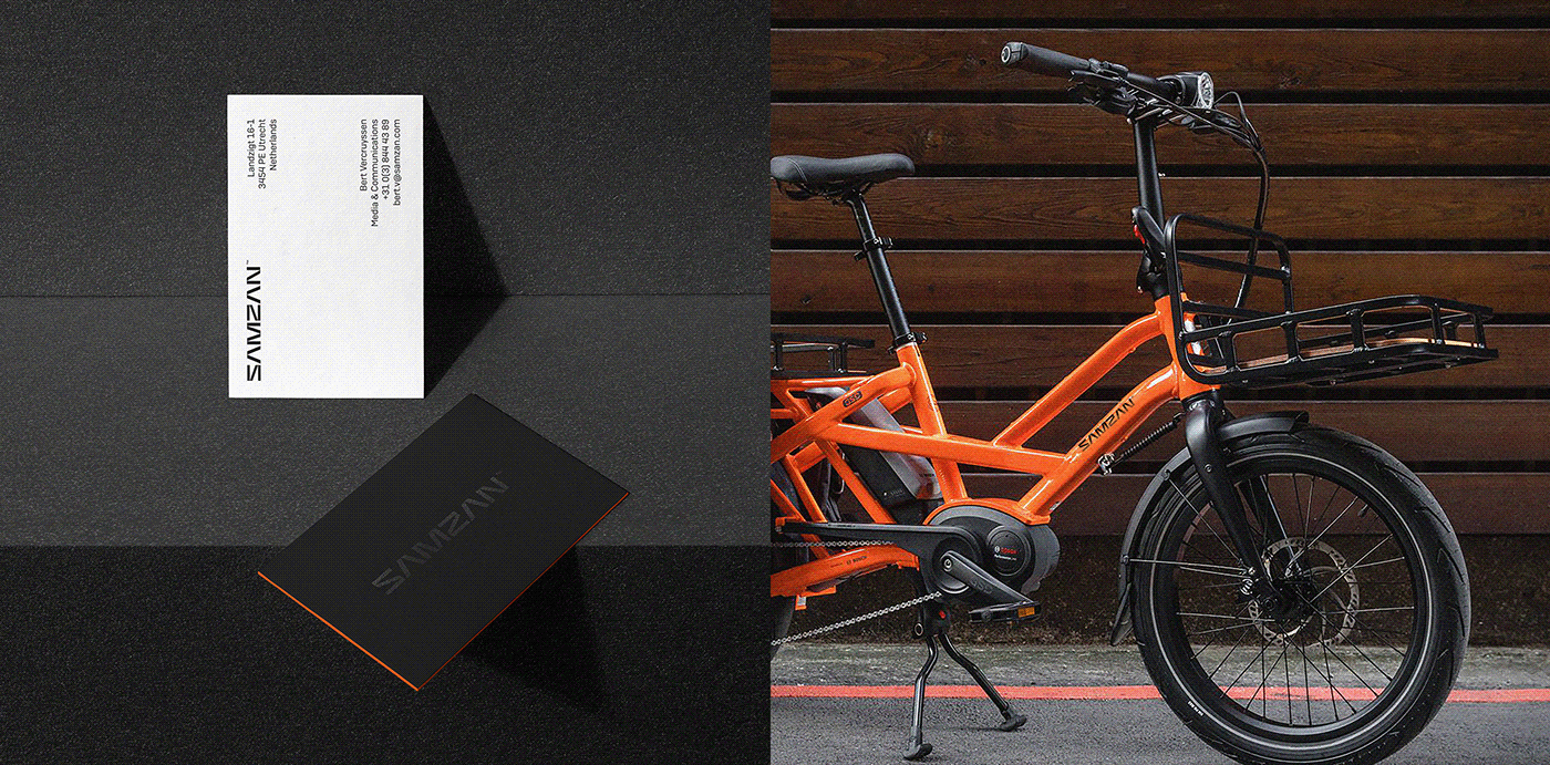 Bicycle Bike black electric green