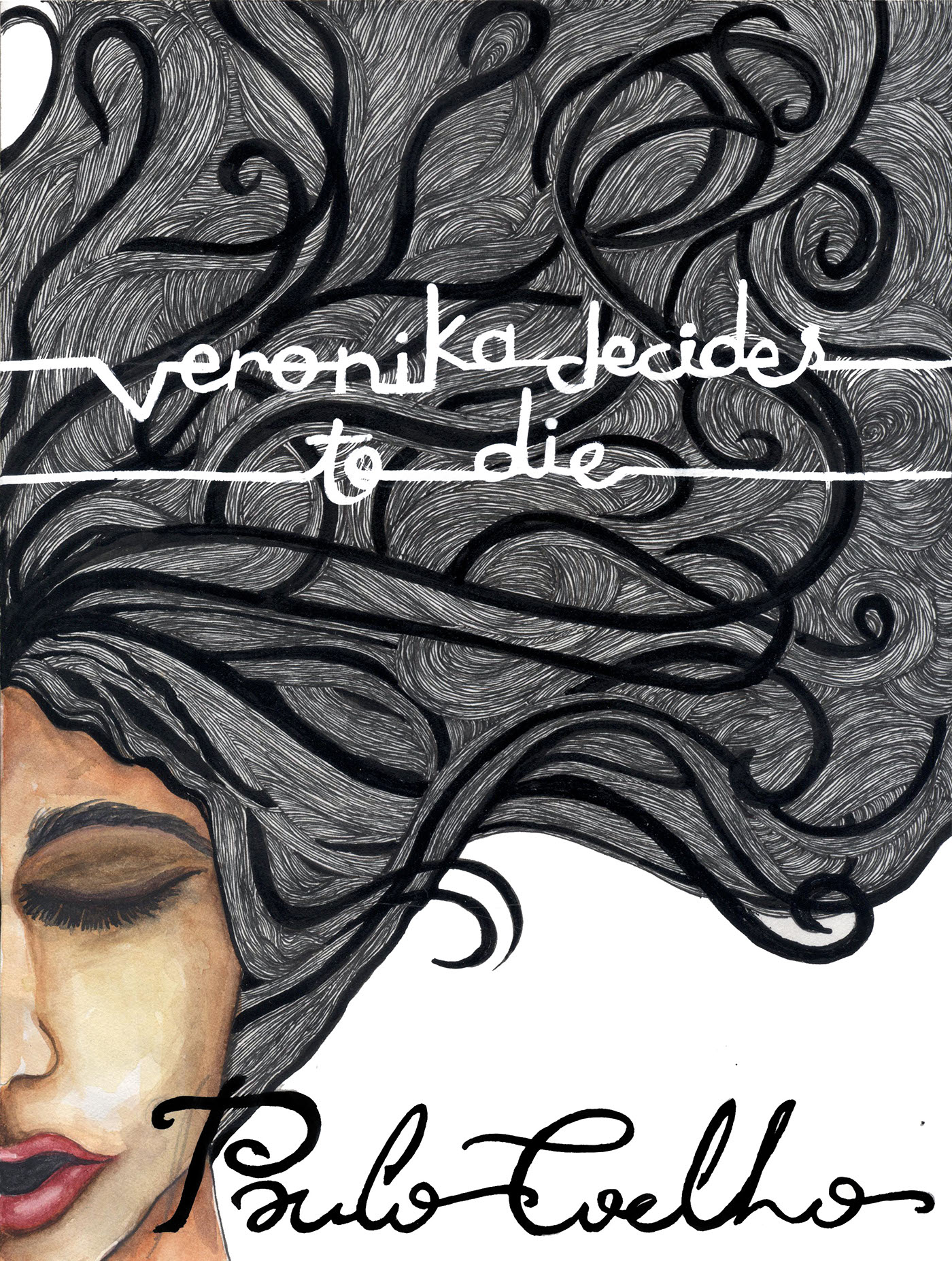 Book covers: Veronika Decides To Die on Behance