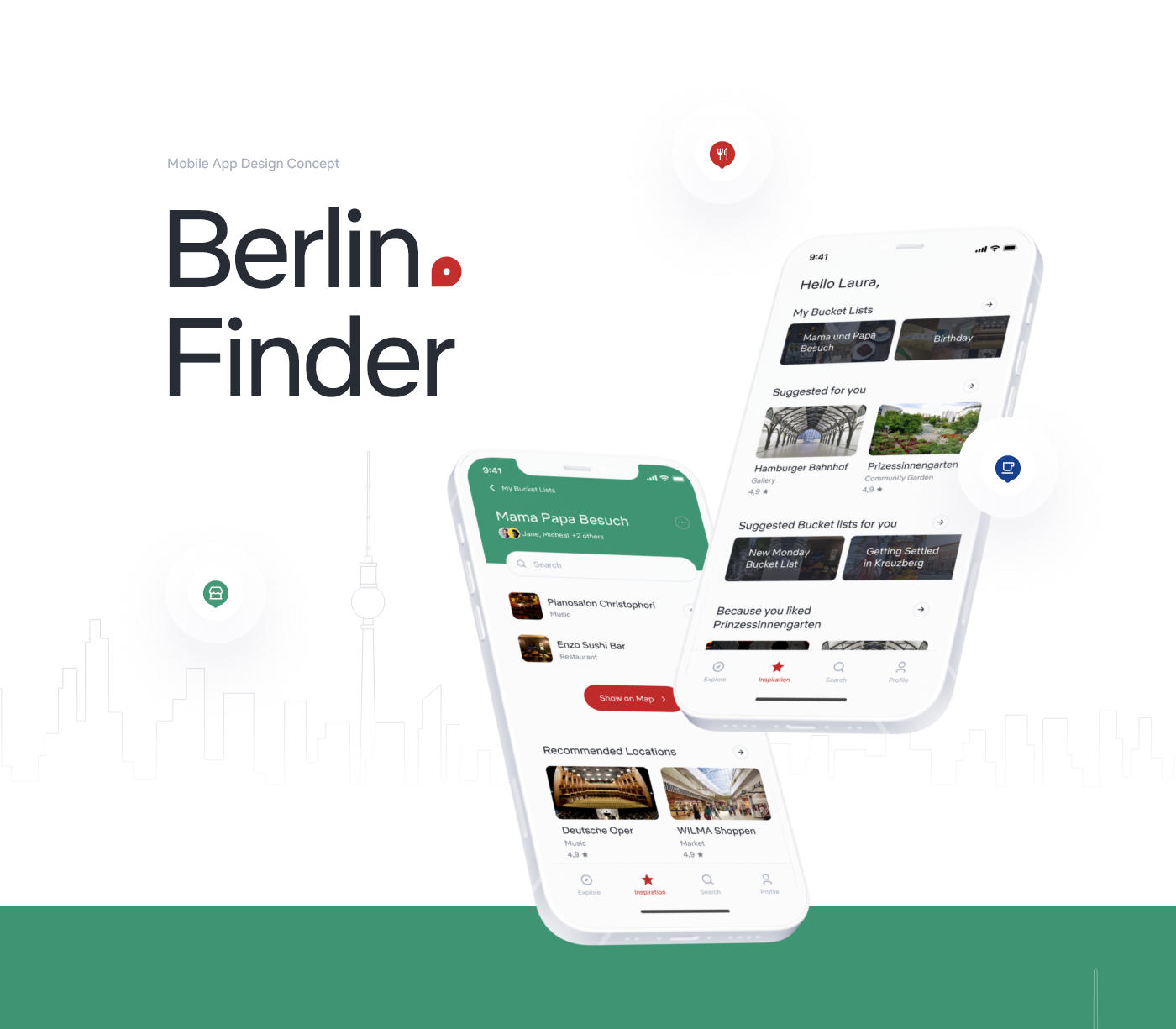 Adobe XD app design application berlin mobile UI/UX user experience user interface user interface design UX Research