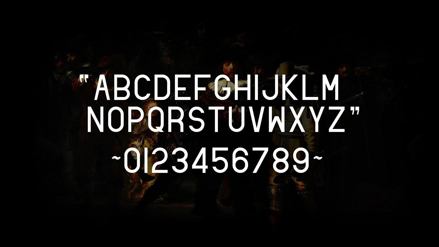 Free font free typeface Golden Ratio types grid divine san serif fonts