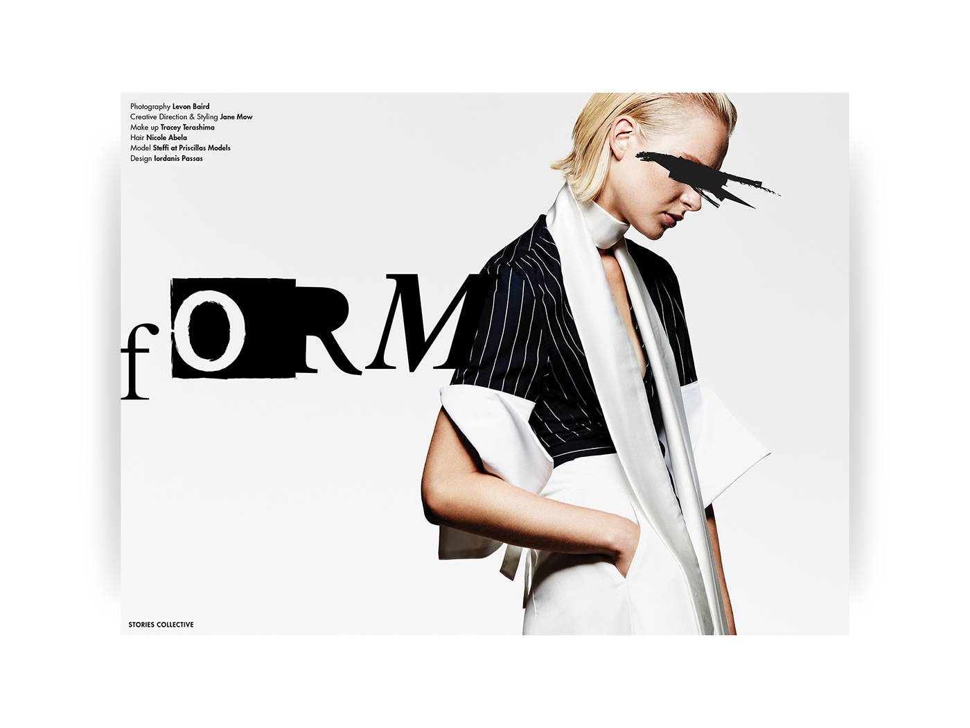 iordanis passas Layout Design stories collective Fashion  Magazine design