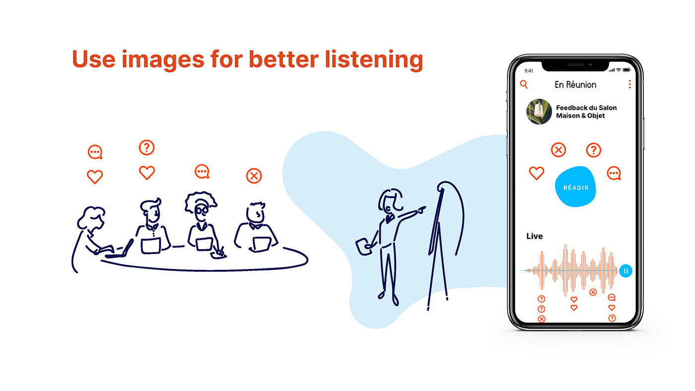 Work  meeting Digital Drawing joy communication mood empathy