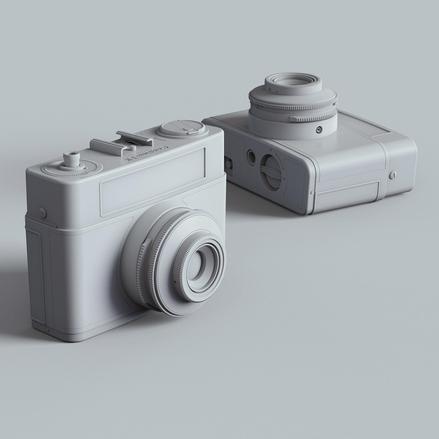camera keyshot rendering 3D Render photorealism materials CGI Education