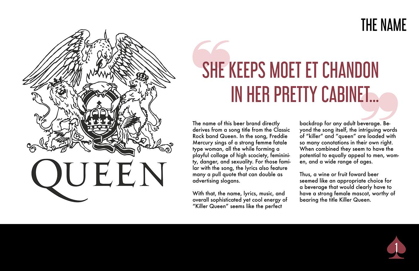 Killer Queen Beer Brand Package Concept On Behance