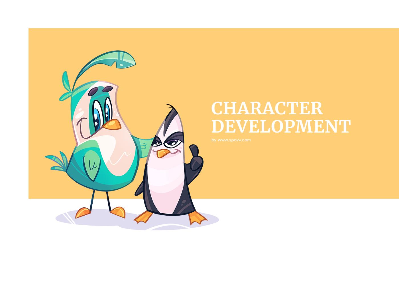 bird,Character,cartoon,spovv,design,characterdesign,poulet,Mascot