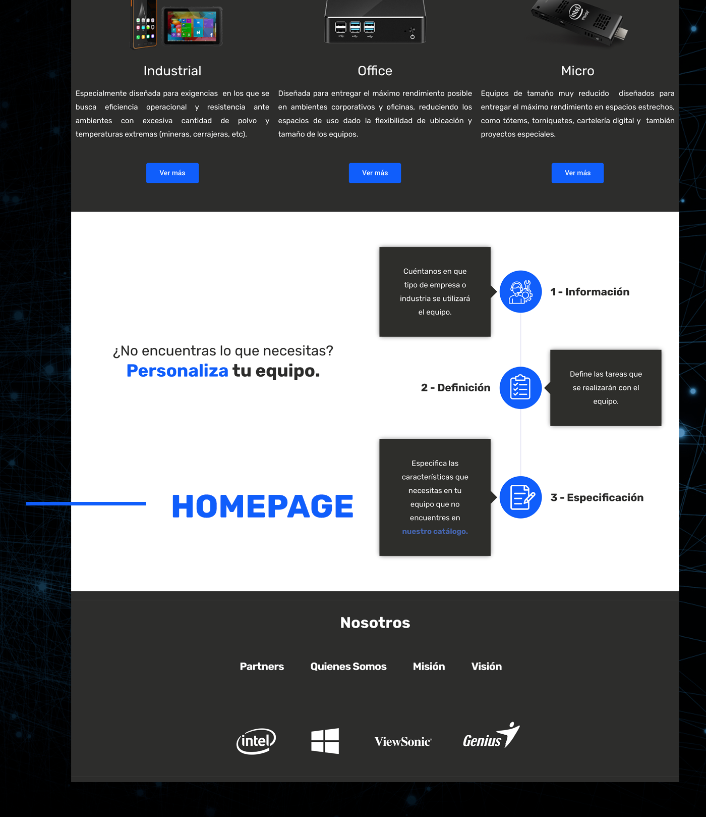 design elementor hardware tech Technology UI ux Web Web Design  wordpress