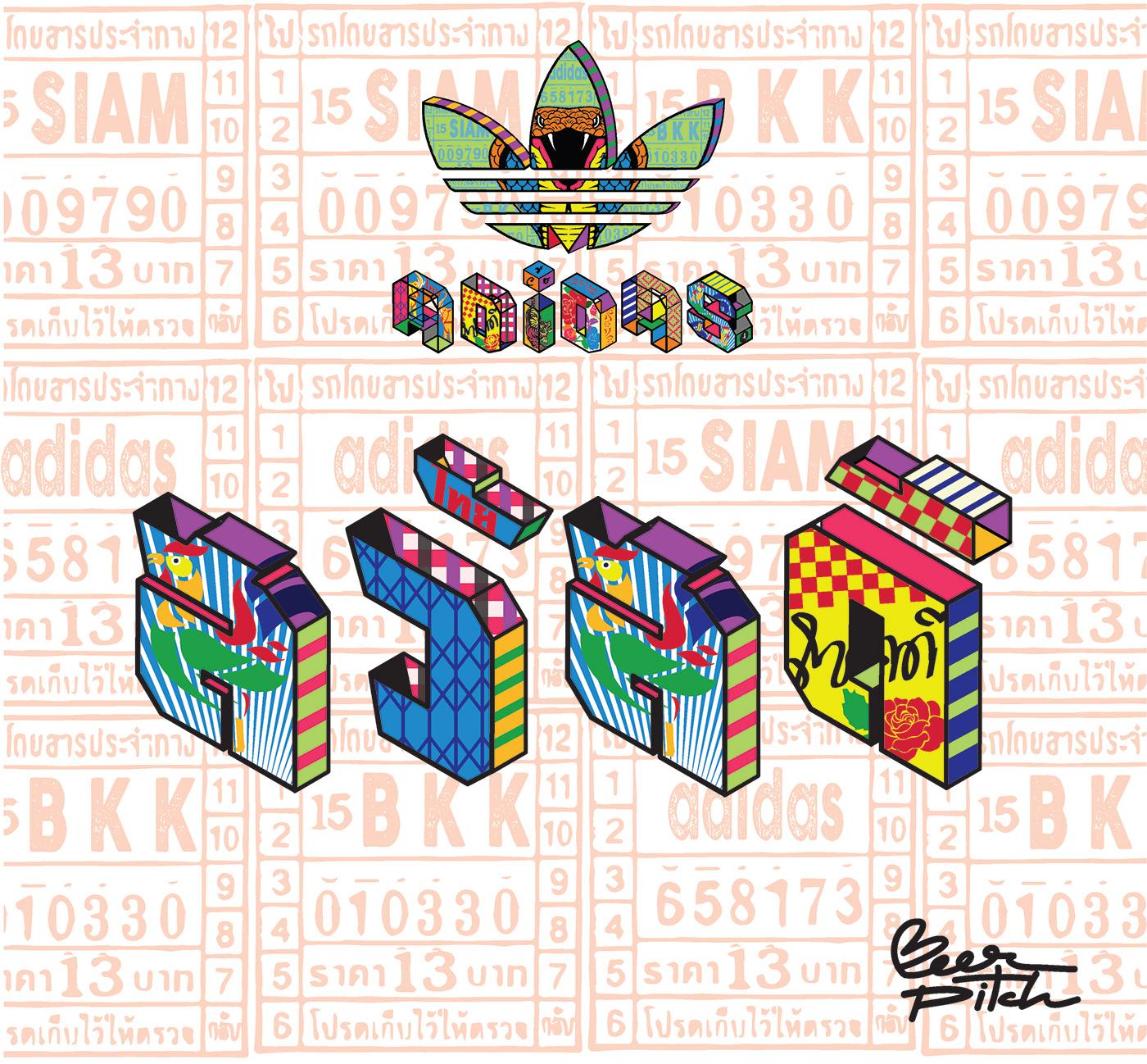 adidas,adidasoriginal,adidasthailand,adidastrefoil,adidasxbeerpitch,beerpitch,thaialphabet,thaistyle,trefoillogo,typography