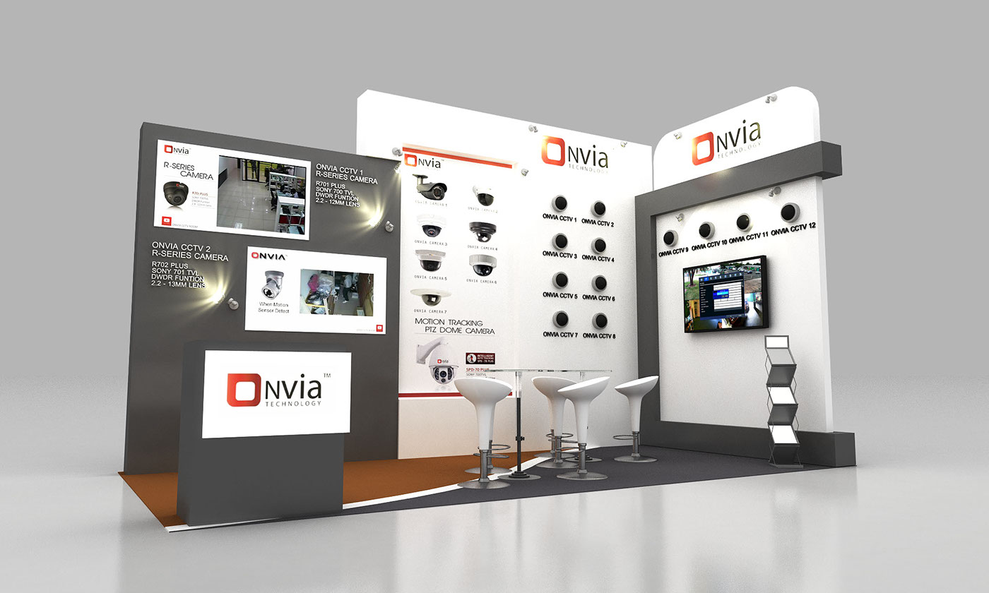 Exhibition Stand Design Case Studies : Onvia on behance