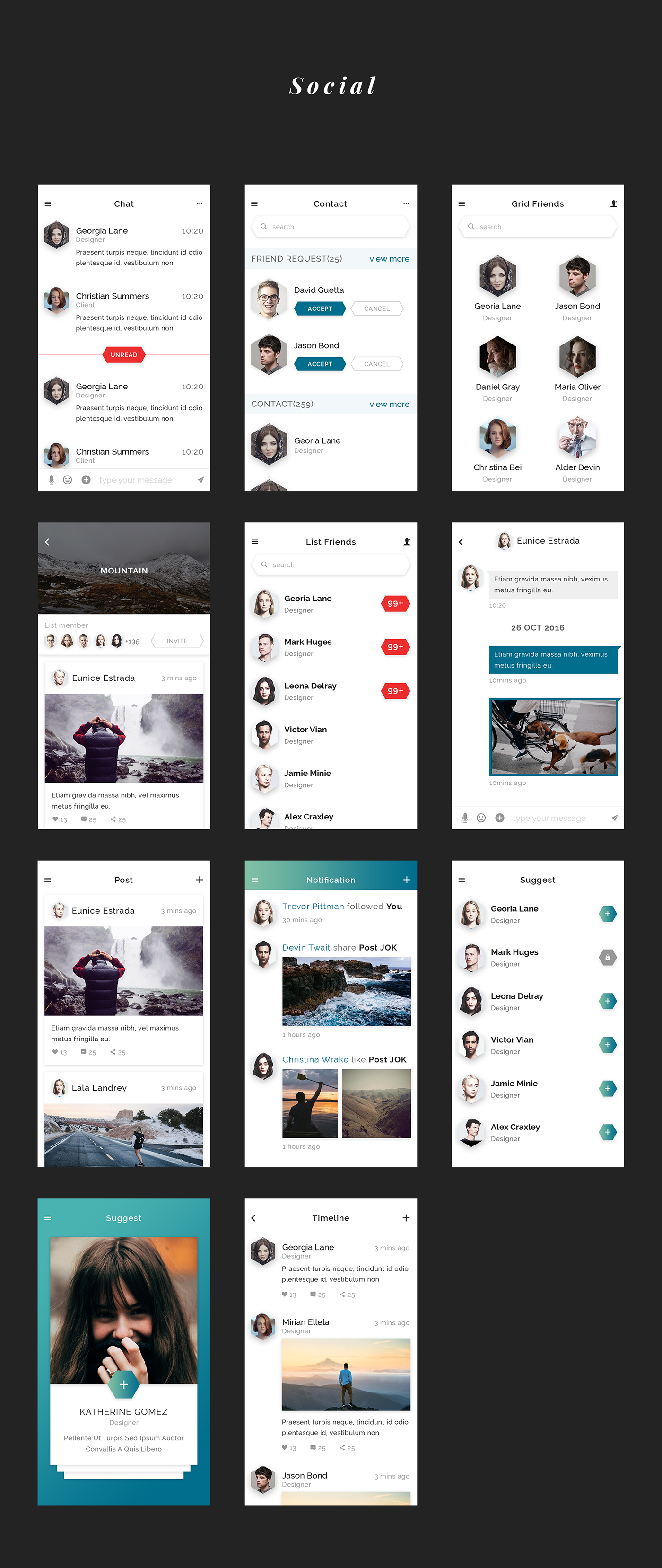 Jok Mobile UI Kit - 5