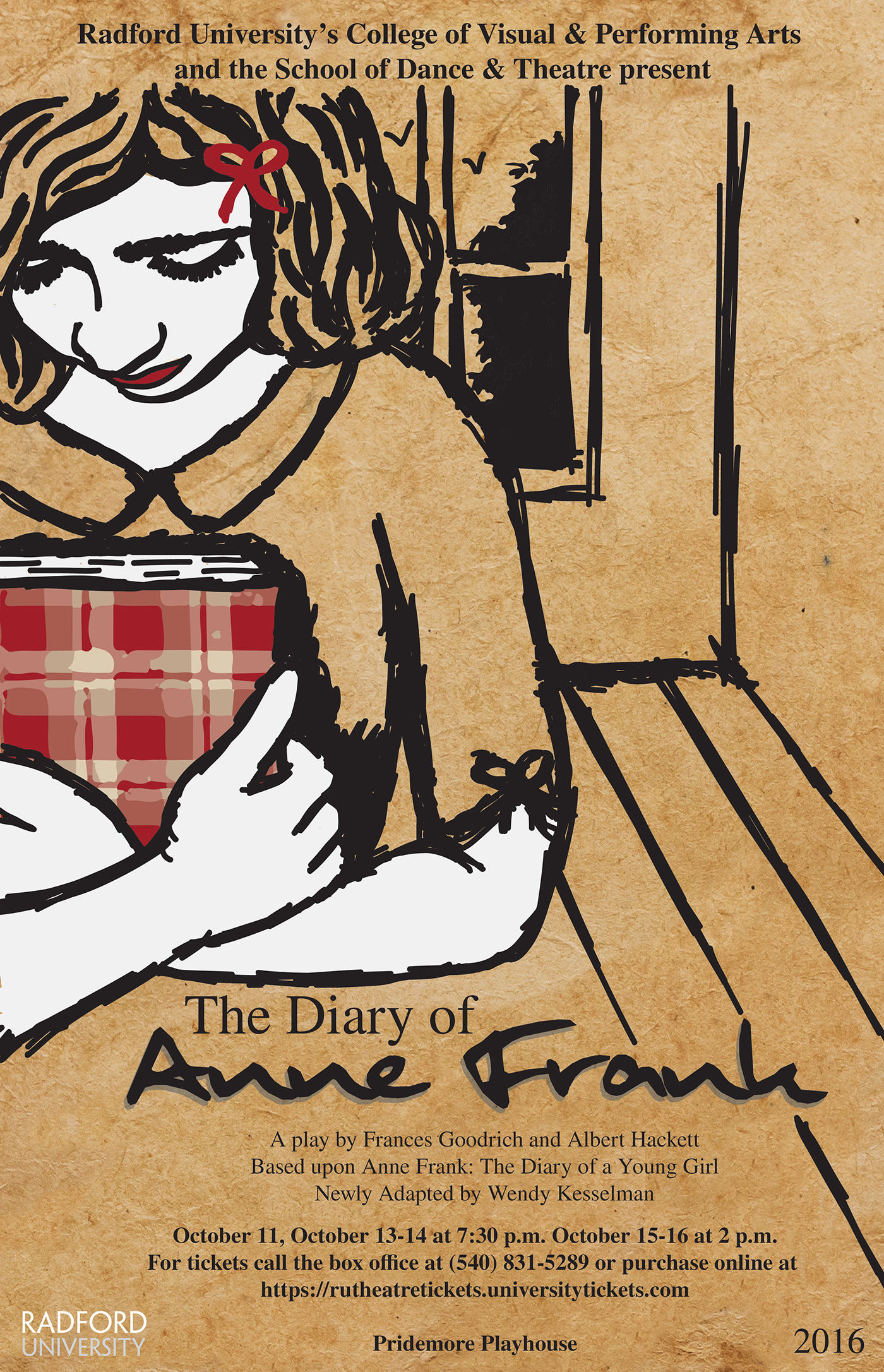 The Diary Of Anne Frank Play Poster On Behance