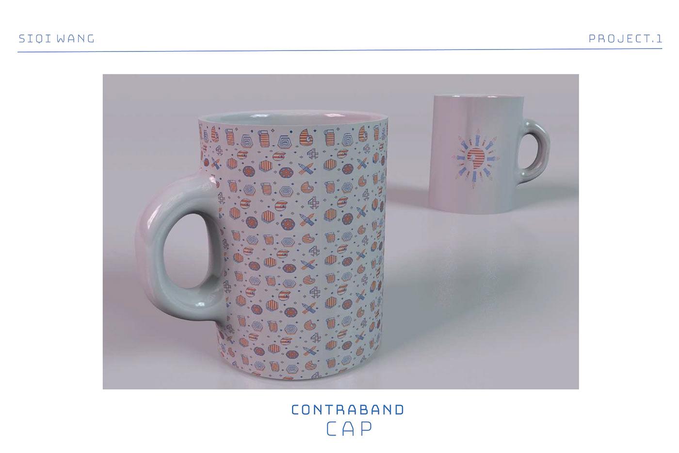 Image may contain: tableware, mug and vase