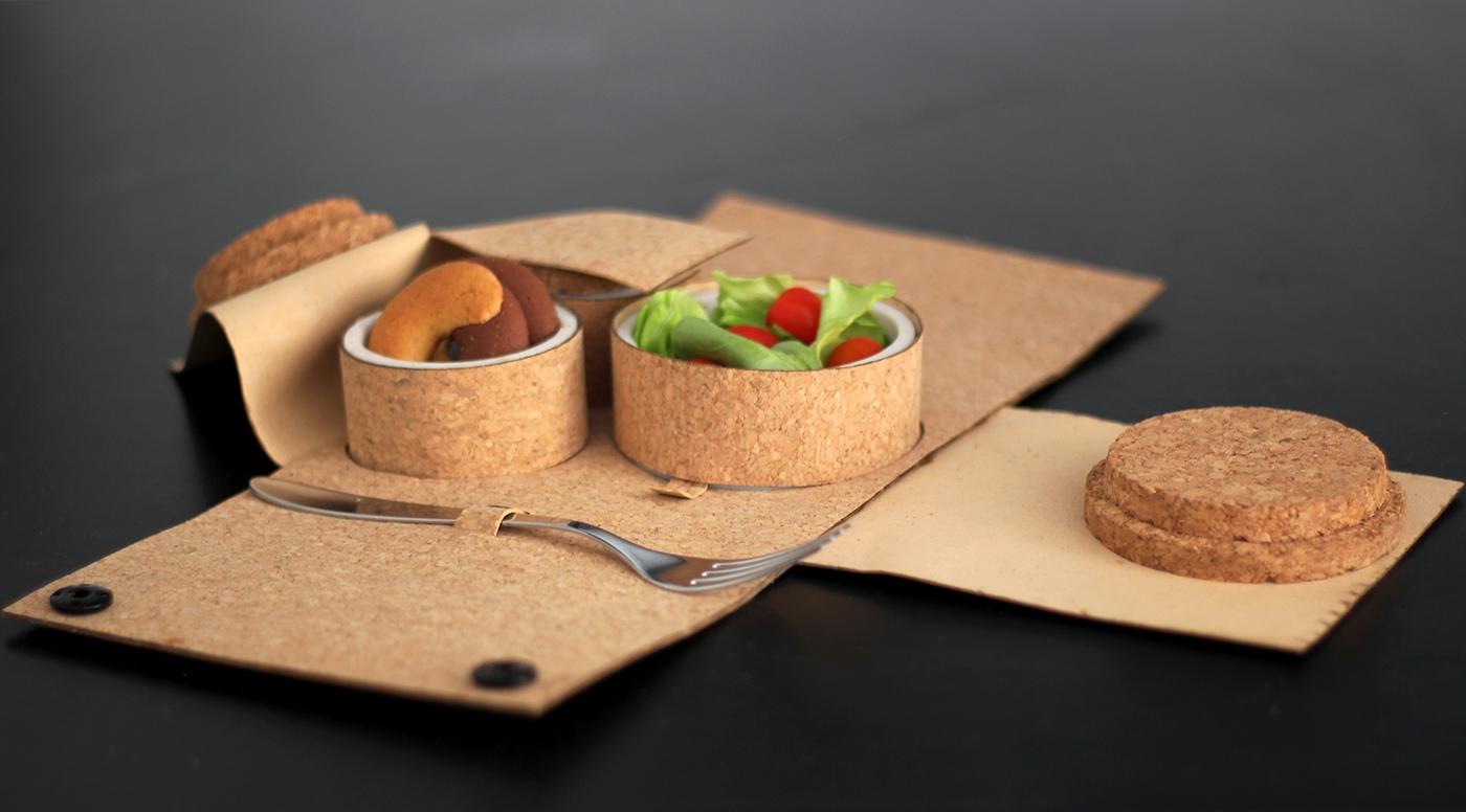 有設計感的23款餐具盒設計欣賞