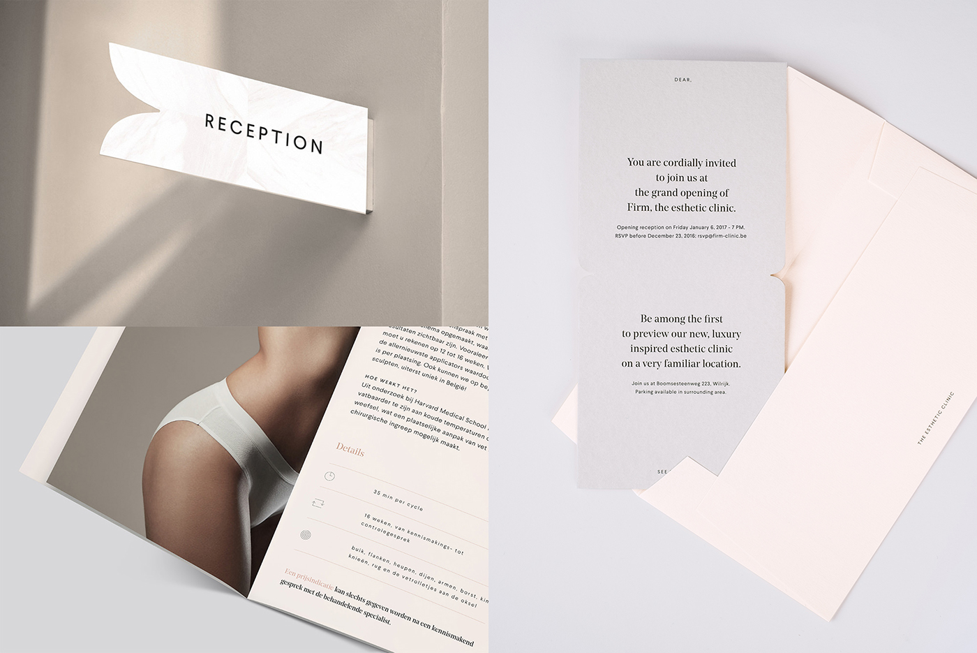 FIRM - The Esthetic Clinic on Behance