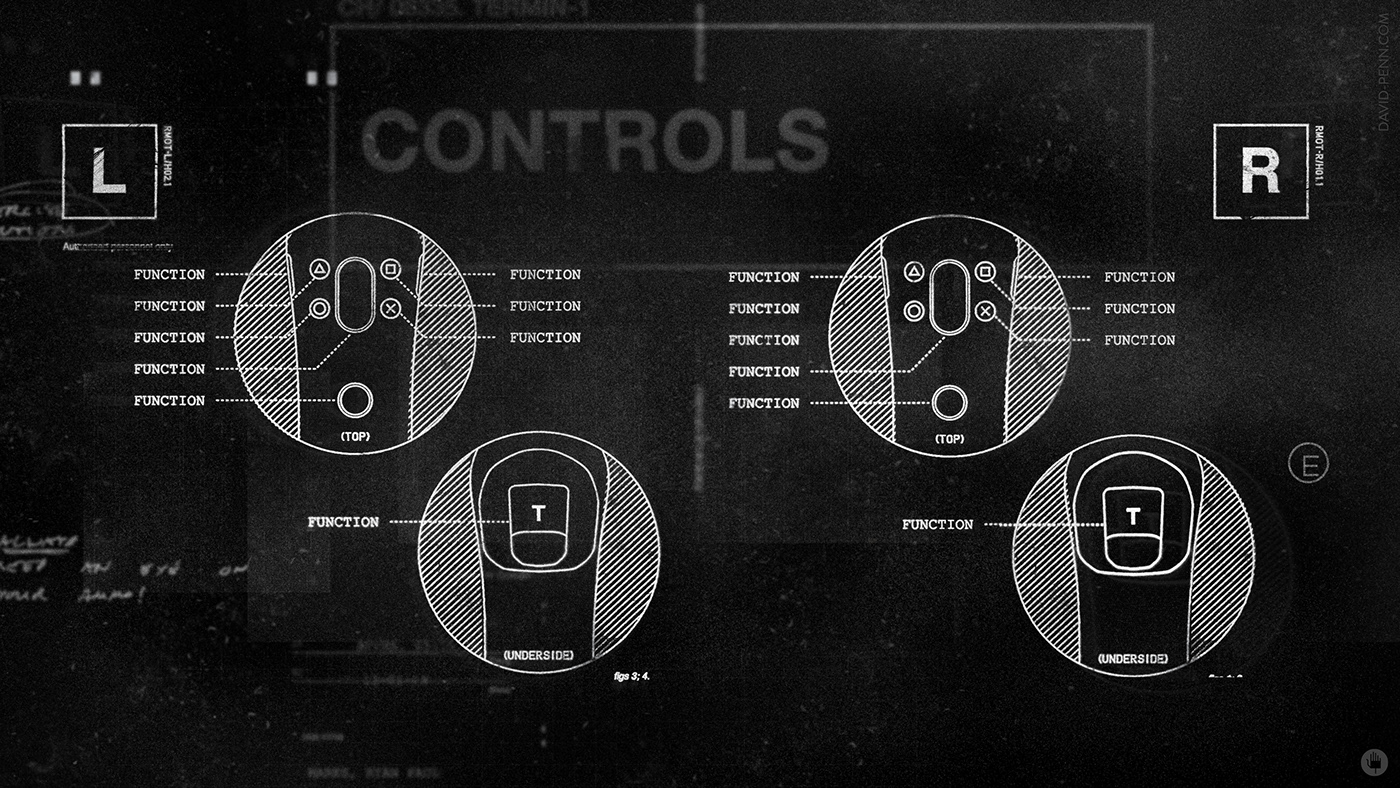 bts design game Interface UI ux vr wip