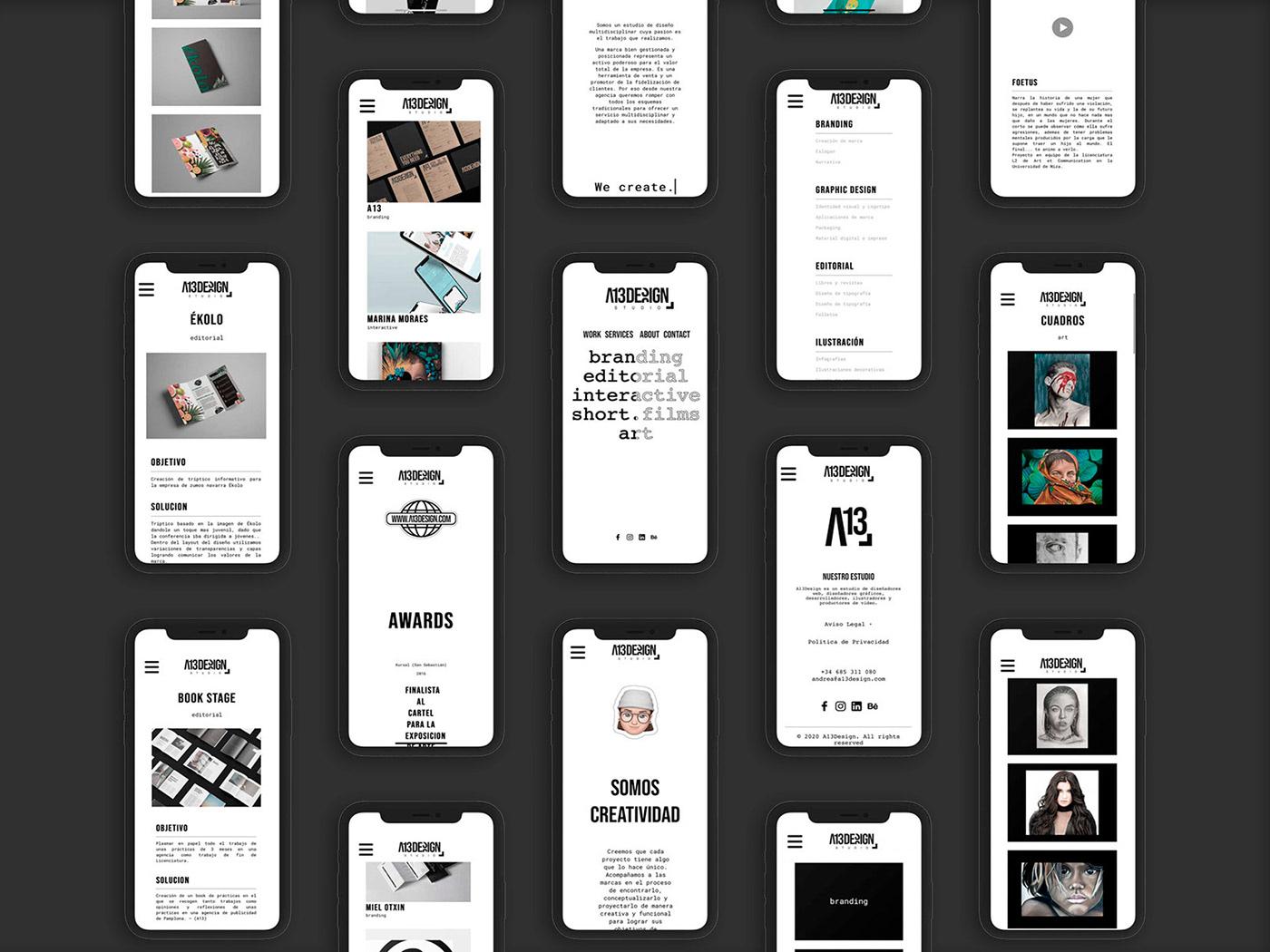 design interactive Web Webdesign