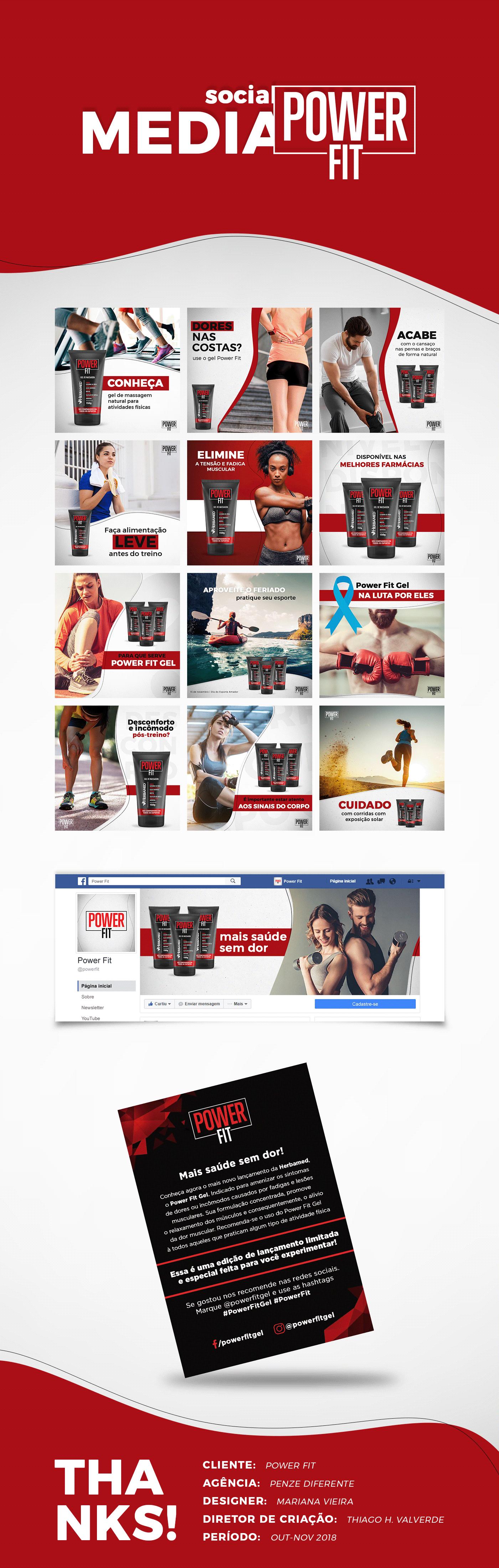 social media mídias sociais post facebook produto FIT