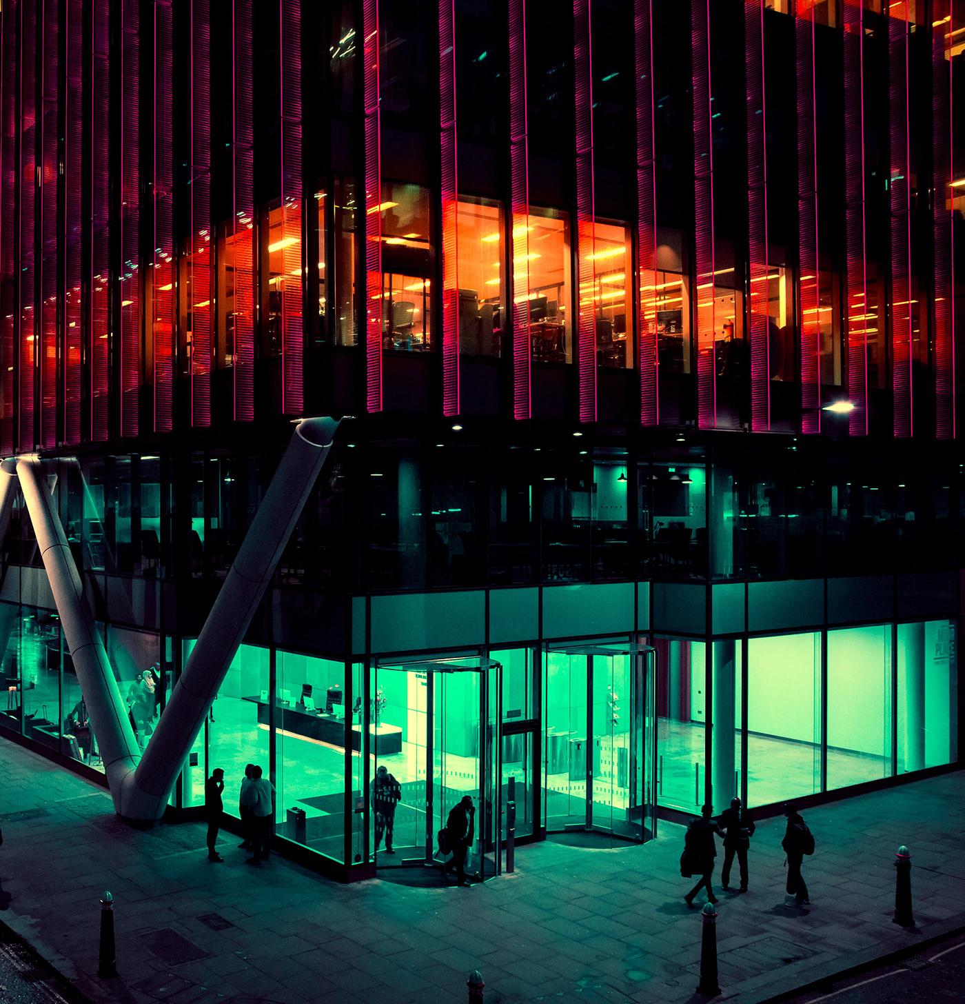neon London Neon Photography color Cyberpunk Retro