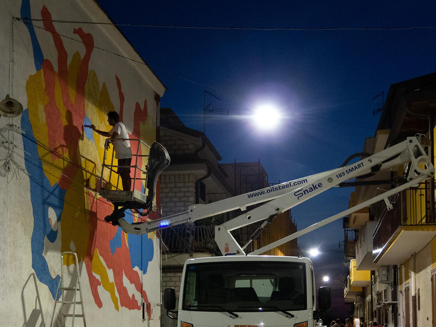 artecontemporanea artepubblica characterdesign godsinlove Mural muralpainting pitturamurale streetart Urbanart wallpainting
