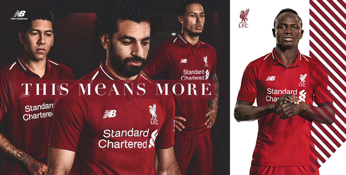 premium selection 5ddc9 9d80a Liverpool 18/19 Kit Launch on Behance