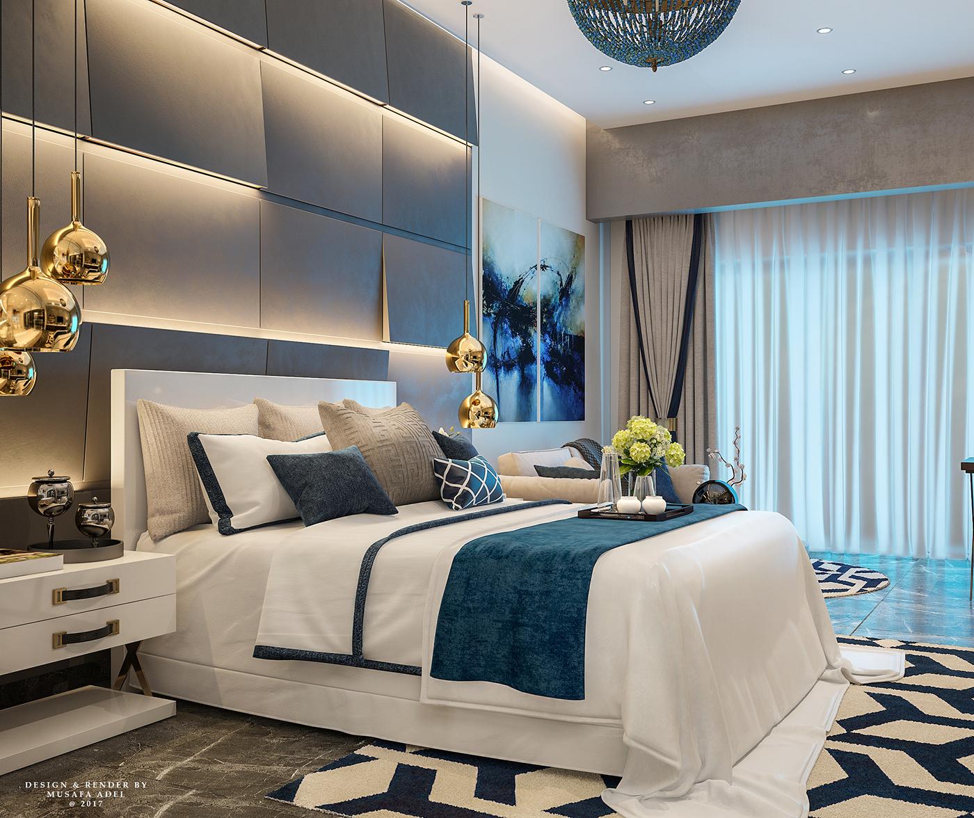 Modern Hotel Rooms on Behance