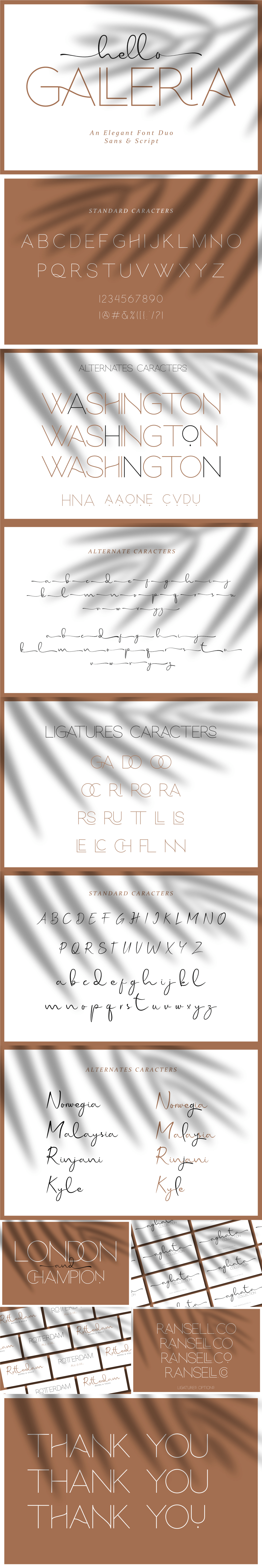 display font elegant font duo free Free font freebie freebies modern sans Script