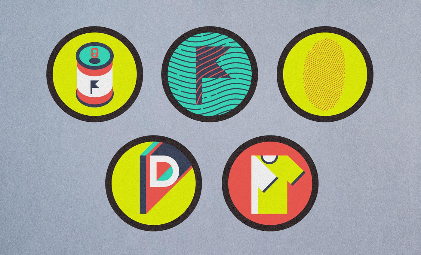 Brand Design identity Stationery Website icons type design font design