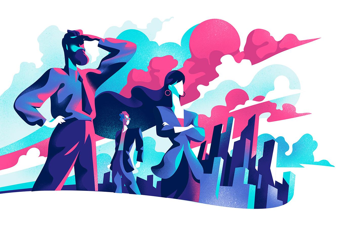 art concpet art Drawing  hero illustration  illustrations stock illustrations