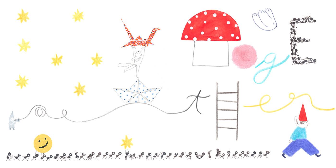 artist artwork bookillustration Drawing  ILLUSTRATION