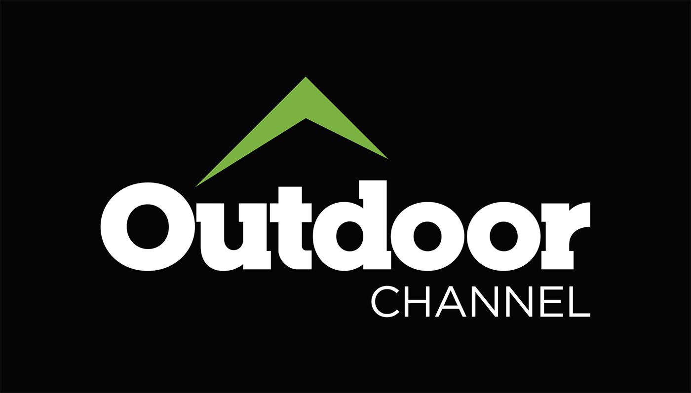 logo tv network logo Outdoor Outdoor Channel branding  word mark