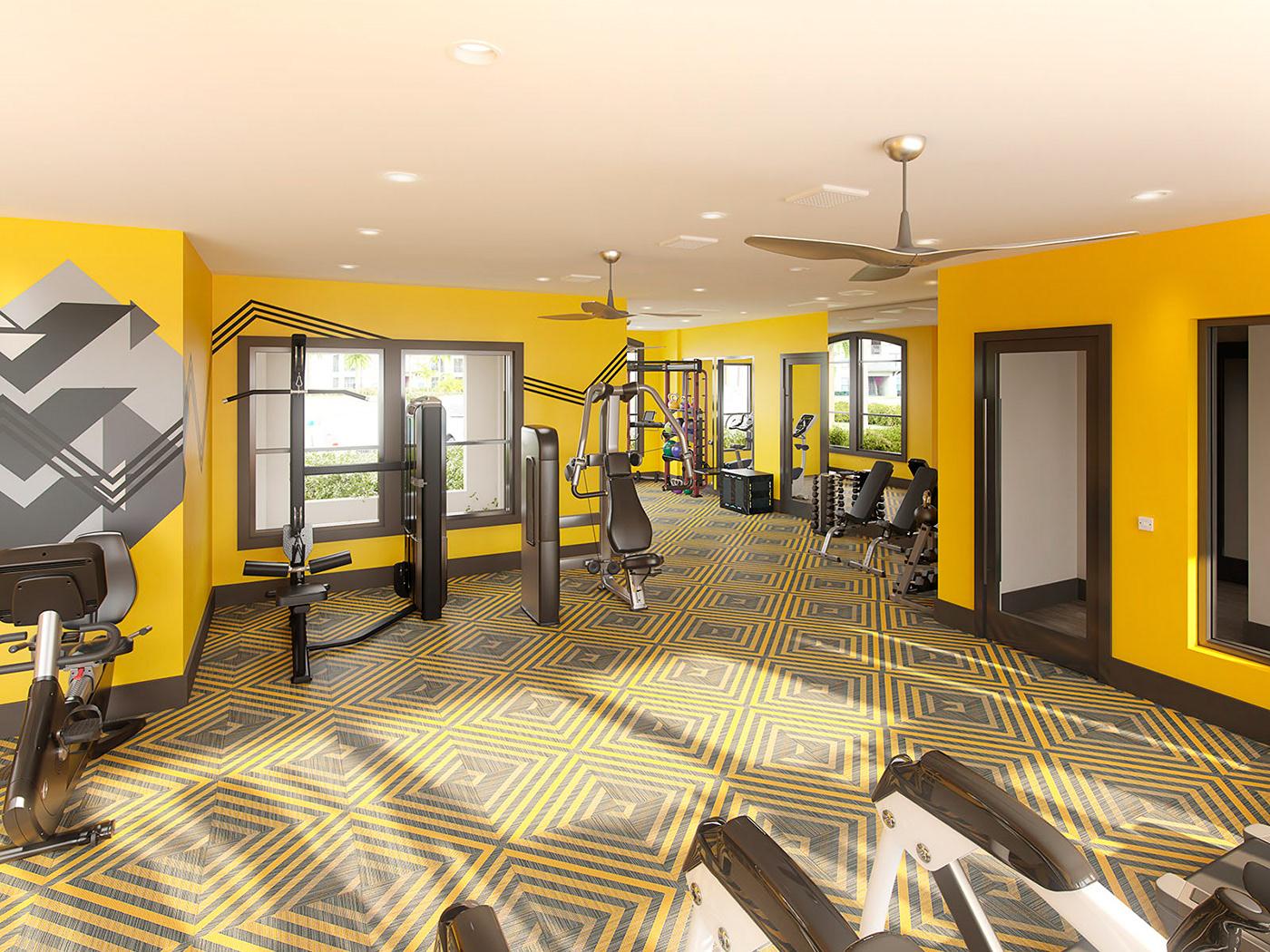 Interior interior design  gym lounge CGI 3D Interior Interior CGI photo realism photo realistic realistic interior