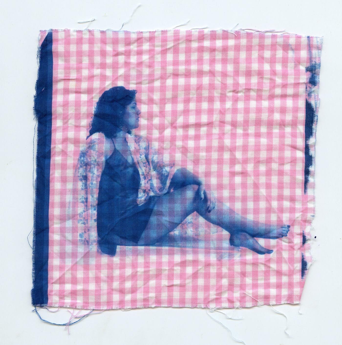 cyanotype fabric works femenism Needleworks needle works