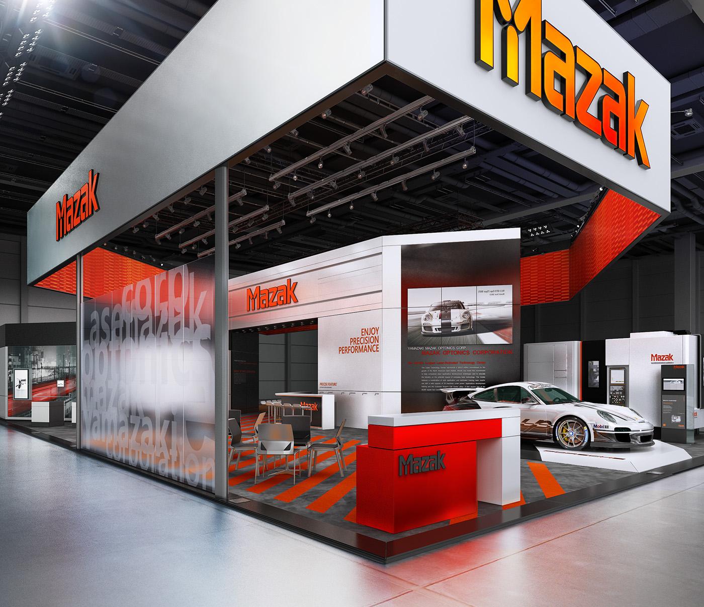 Exhibition Booth Japan : Mazak blechexpo on behance