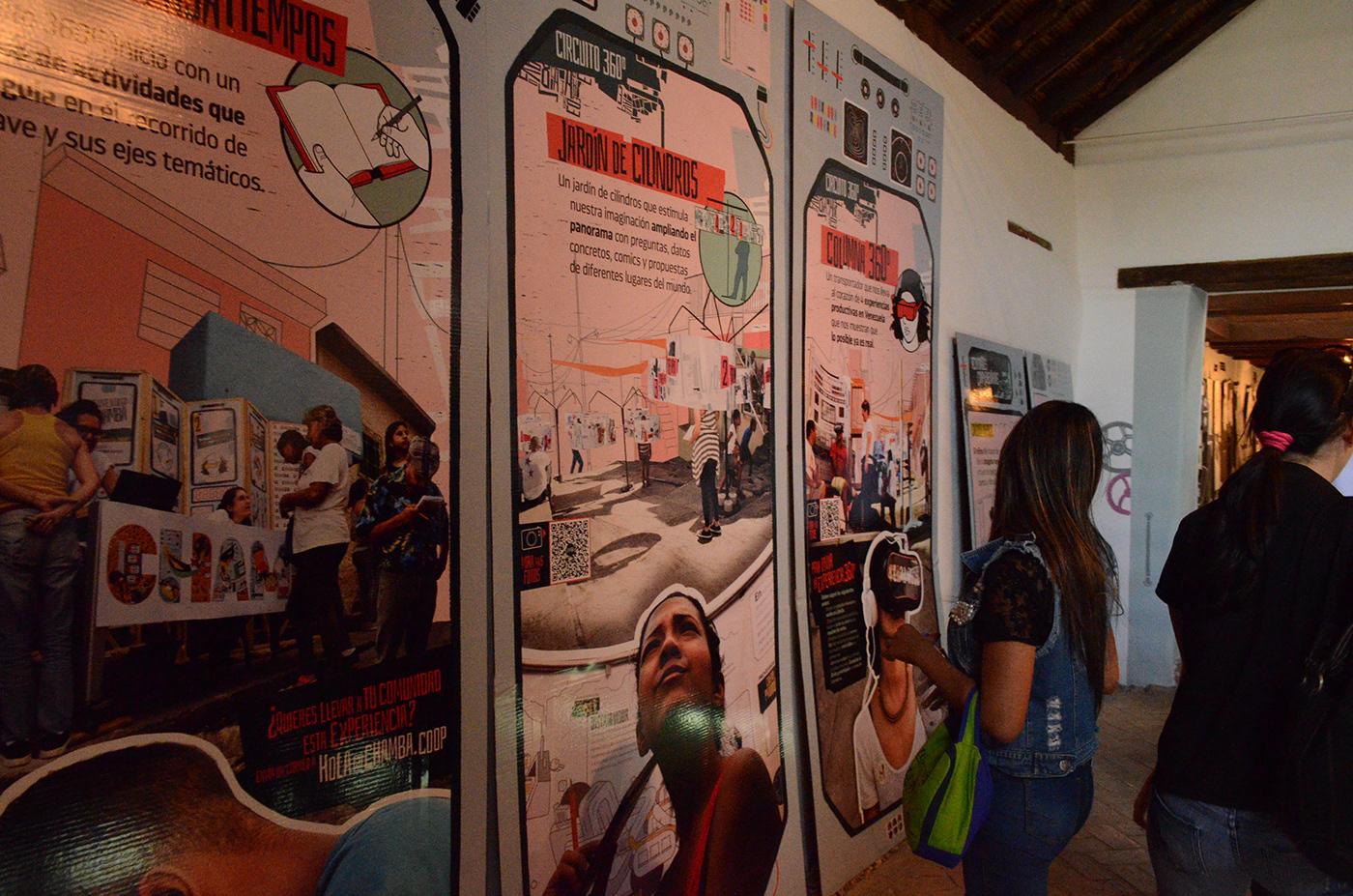 Cooperativa cooperative socialism Work  venezuela capitalism 360° Video social design Chamba   youth