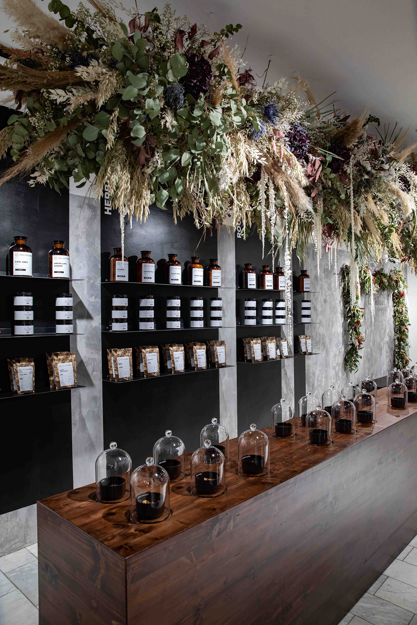 Nobla Innenarchitekt Raumdesign Innenausstattung Hellers Tea Shop Stuttgart