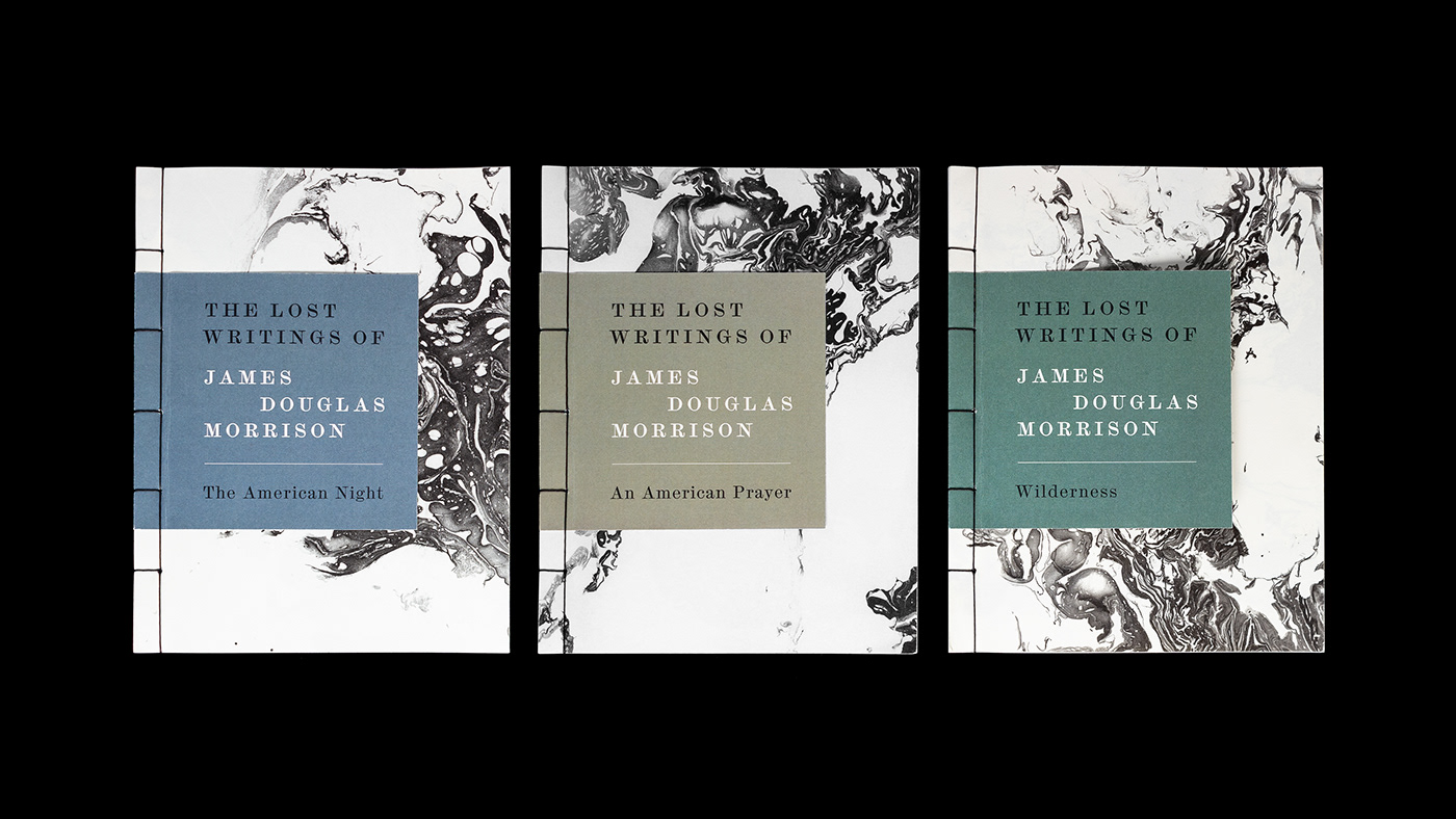 topshot of the three book covers