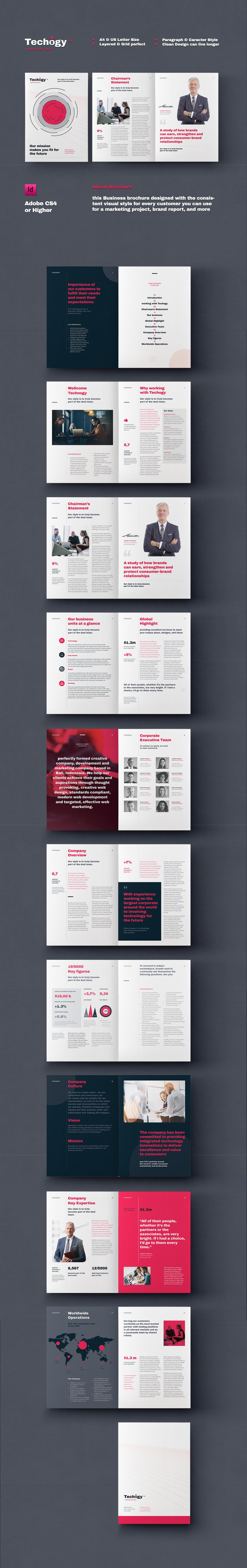 annual report template brochure brochure design Brochure Template business company profile Corporate Brochure Proposal report template simple brochure