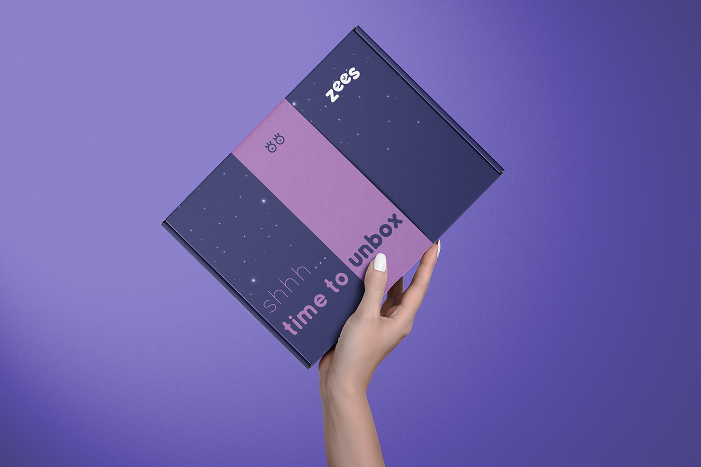 box branding  Health Packaging sleep Wellness purple identity relax