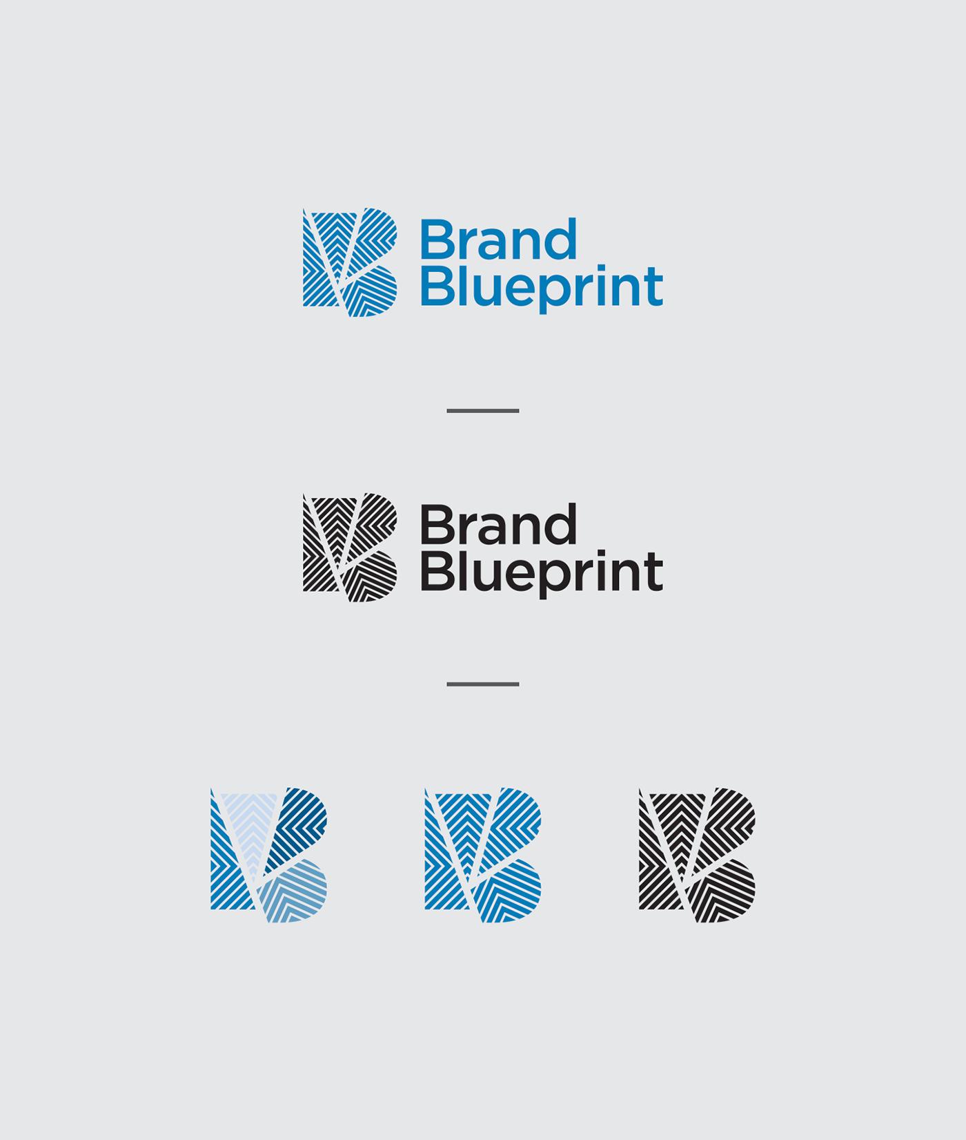 Brand blueprint logo design on behance project credits malvernweather Image collections