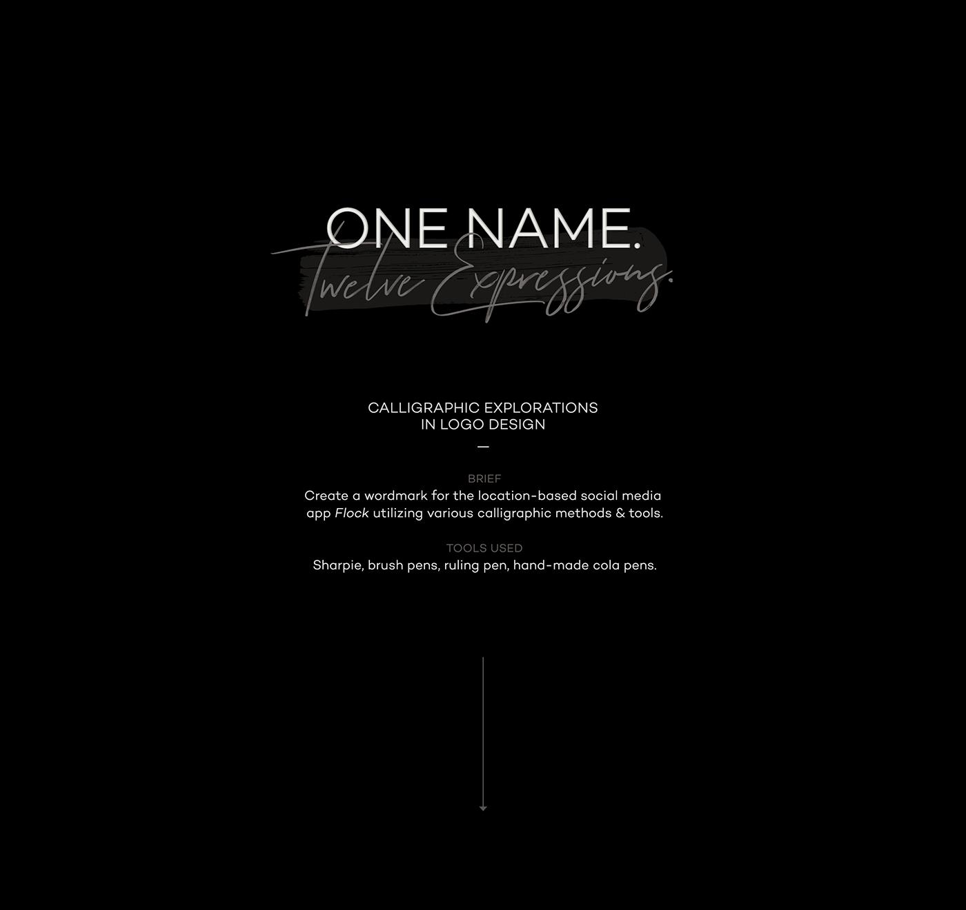 Calligraphy   lettering logo branding  app Brand Design Corporate Identity