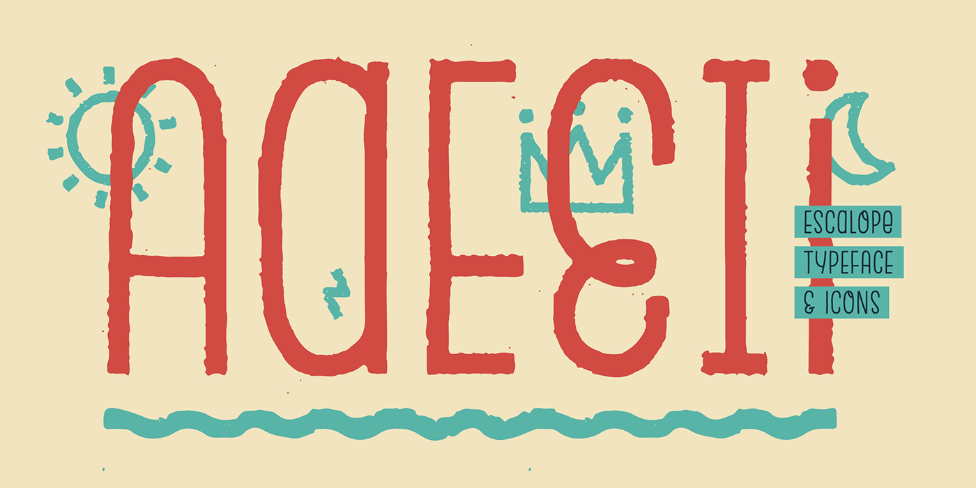 Display alternates branding  handwritten handdrawn font tipografia icons monoline Hoodzpah