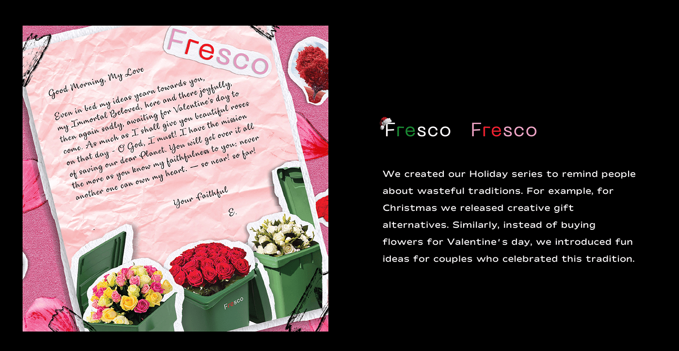 branding  business campaign Fashion  fresco marketing   Project ringling student Student work