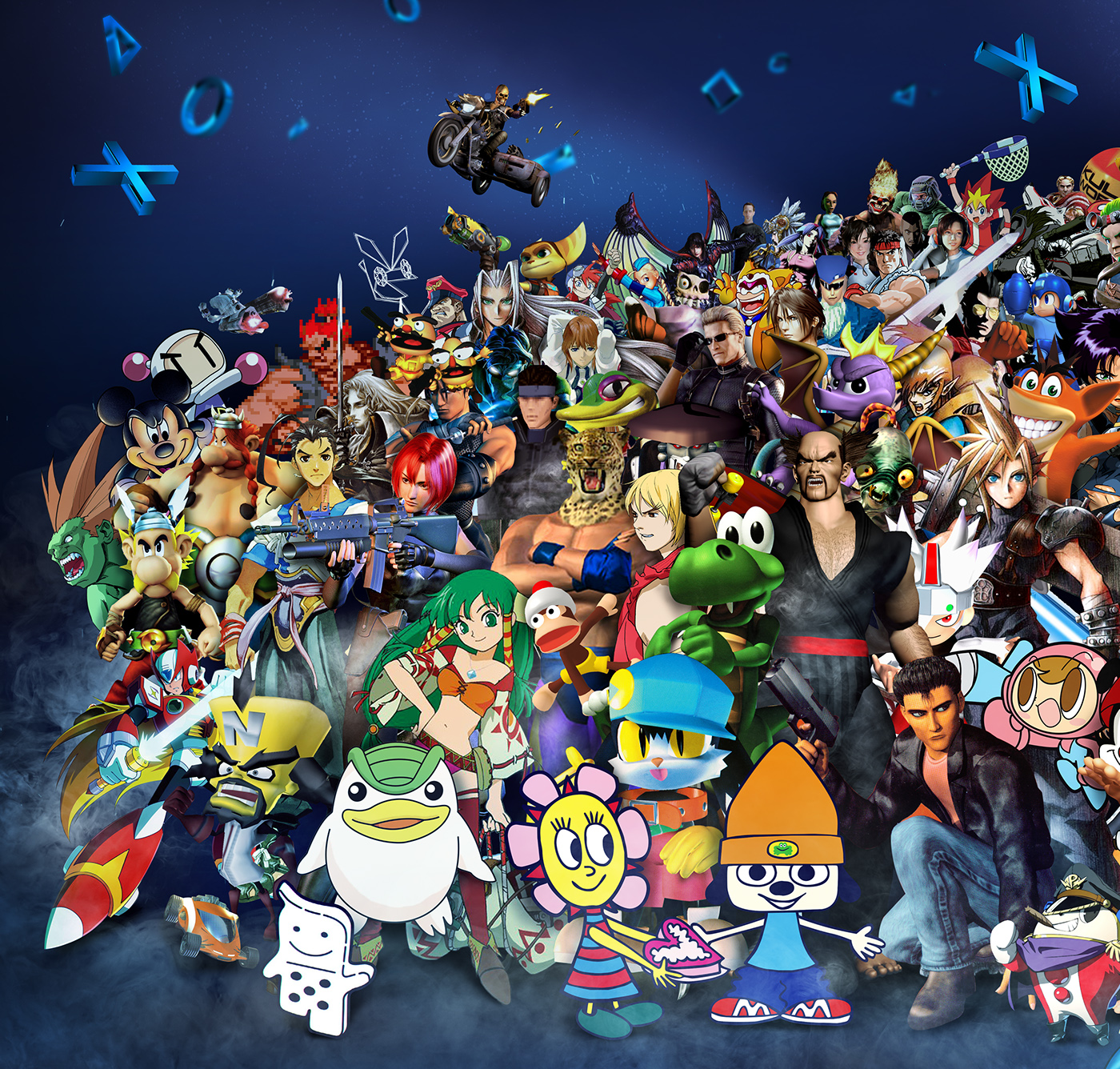 Character Design Jobs London : Playstation years of characters on behance